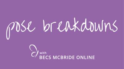 Pose Breakdowns